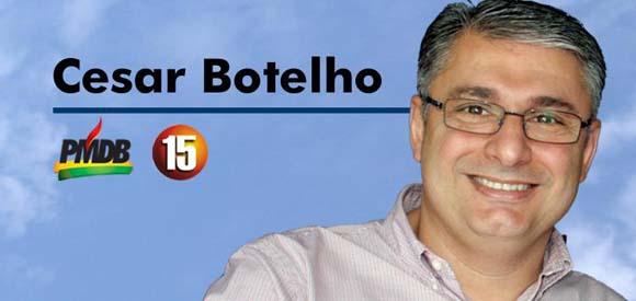 César Botelho assume a Secretaria Regional de Blumenau