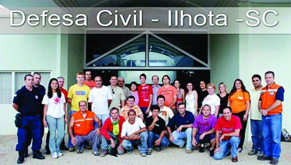 Curso Operacional de Defesa Civil em Ilhota