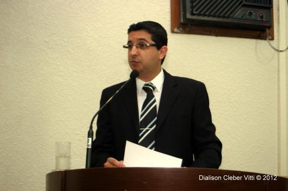 Diplomação do prefeito eleito Daniel Bosi