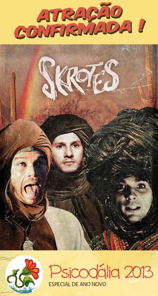 Os Skrotes é a banda que vai representar Floripa no Festival Psicodália 2013