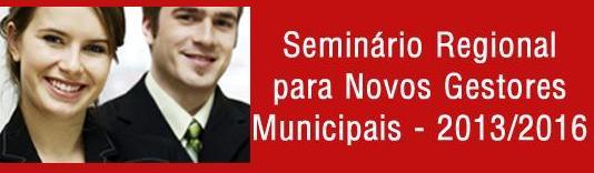 Prefeitos e vices eleitos receberão orientações em seminário na AMFRI