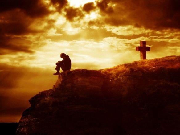 Aprendi que sem Deus eu não posso viver