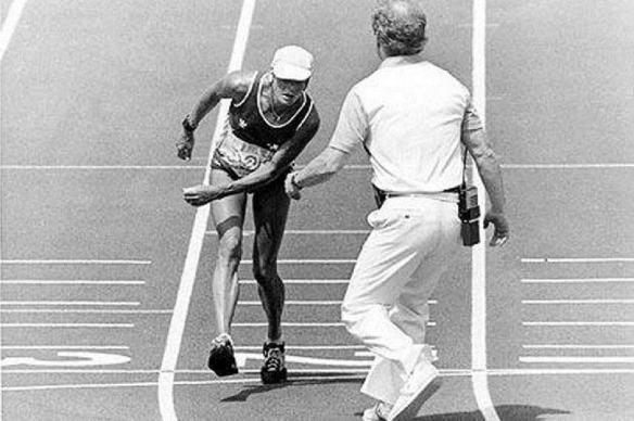 Gabrielle Andersen-Schiess foi uma corredora de maratona, nascida na Suíça. Nos Jogos Olímpicos de Verão de 1984