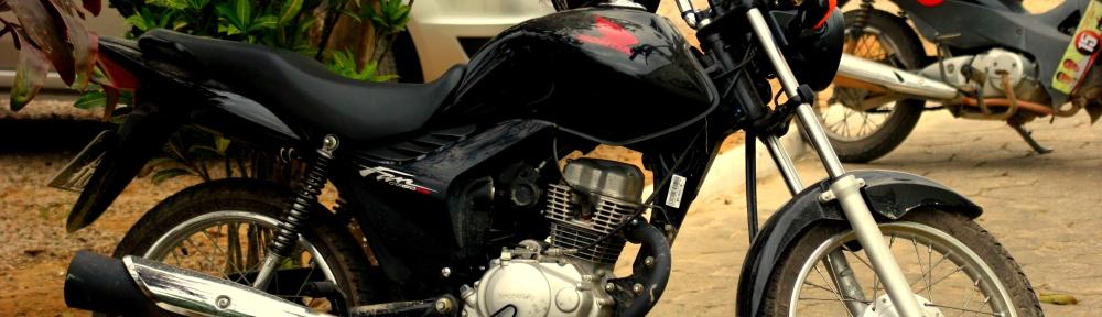 Minha moto Fan 150