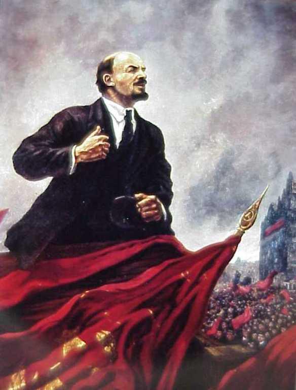 Lenin, o líder da Revolução Russa