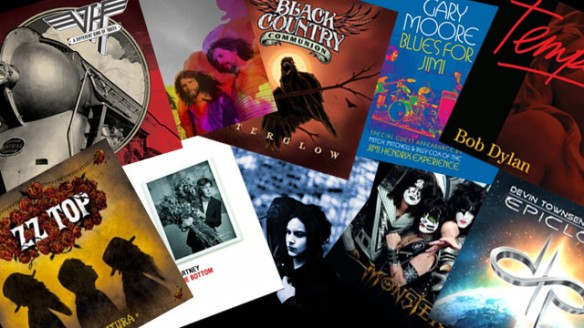Os 10 melhores álbuns de rock de 2012