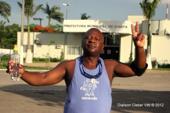 Paulo Abud o atleta ilhotense
