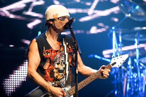 Scorpions ao vivo em São Paulo em 2012.