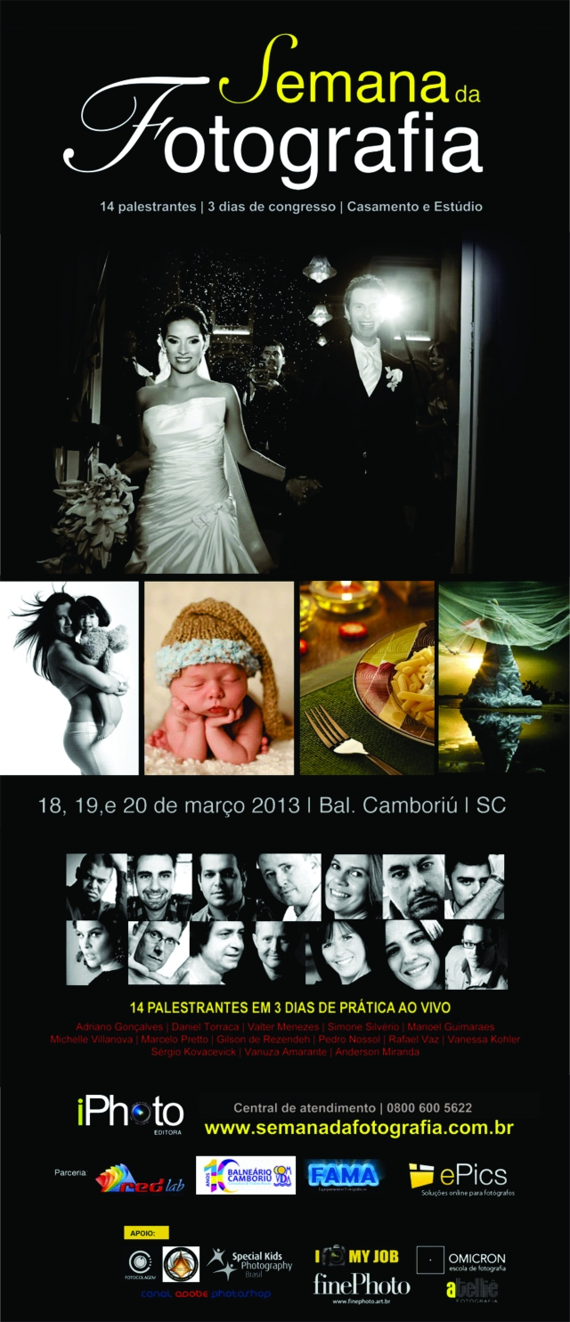 Semana da fotografia 2013 da iPhoto Editora
