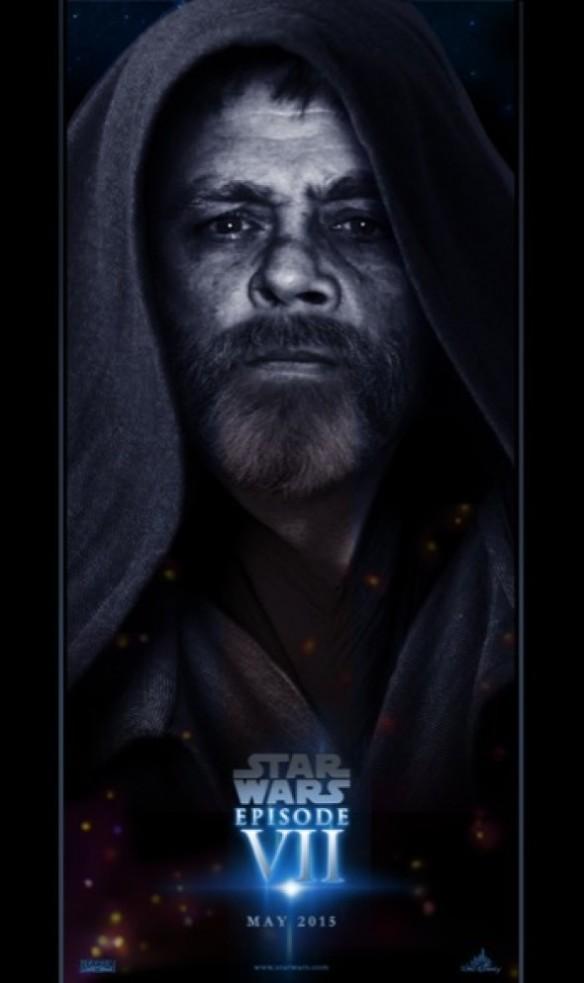 Cartazes de Episódio VII de Star Wars criados pelos fãs.da saga de George Lucas