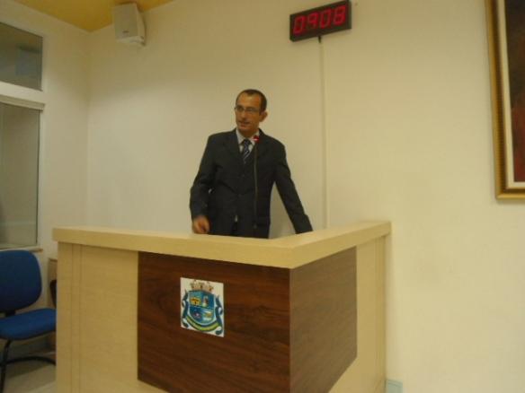Vereador Murilo Cordeiro do PT de Navegantes tem seus pleitos aprovados