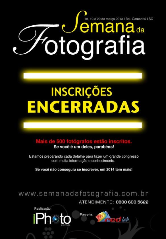 Semana da Fotografia 2013. Inscrições encerradas!