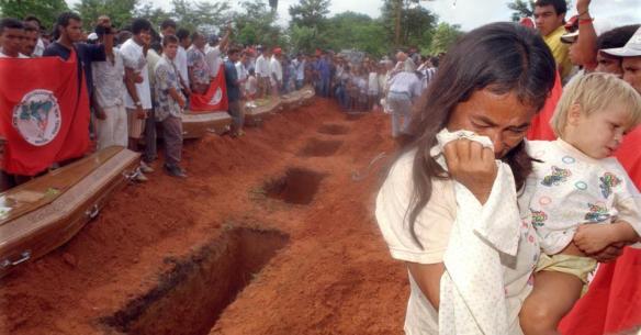 17 anos do massacre e a ofensiva  contra a Reforma Agrária