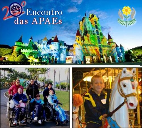 20º Encontro das APAEs no Parque Beto Carrero World
