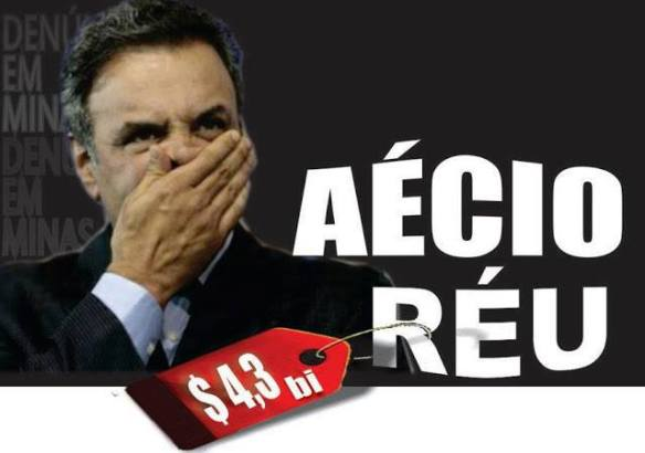 Comprovado que Aécio tentou influenciar ministro do STJ