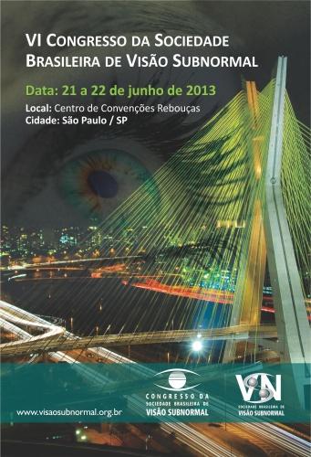 VI Congresso da Sociedade Brasileira de Visão Subnormal