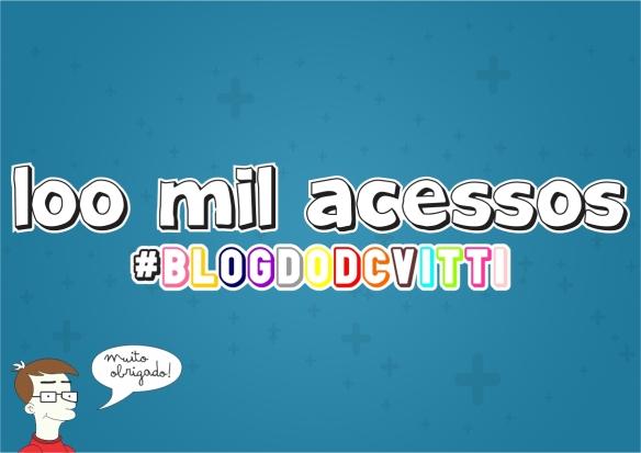blog do dcvitti chega a marca dos 100 mil acessos #blogdodcvitti