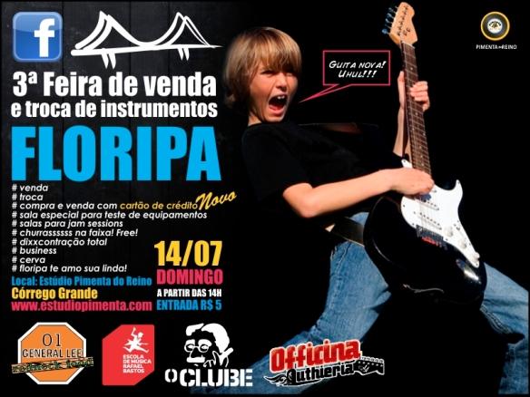 3ª feira de instrumentos usados de Floripa!