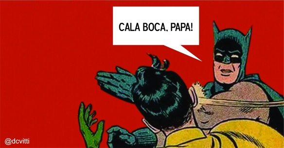 dcvitti e o tapa do batman
