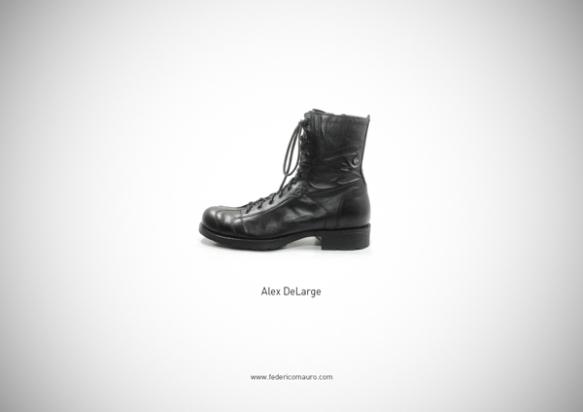 Famous Shoes - Alex DeLarge (A Clockwork Orange - Arancia Meccanica)
