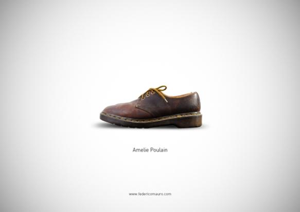 Famous Shoes - Amelie Poulain (Le Fabuleux Destin d'Amélie Poulain - Il Favoloso mondo di Amelie)