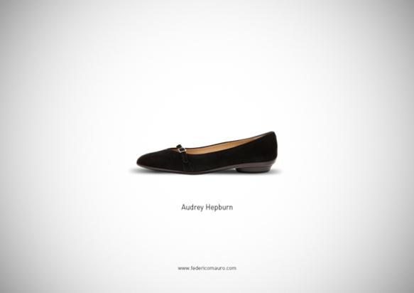 Famous Shoes - Audrey Hepburn