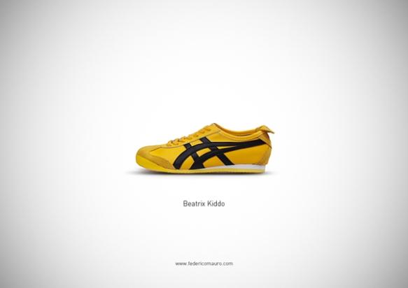 Famous Shoes - Beatrix Kiddo (Kill Bill)