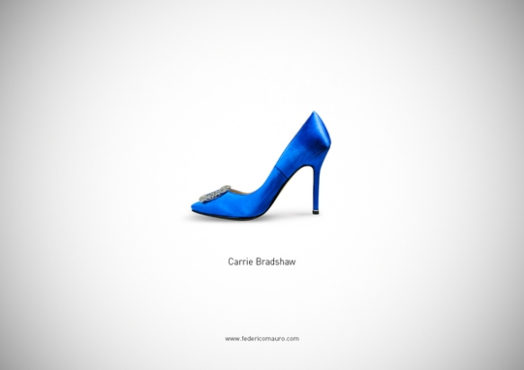 Famous Shoes - Carrie Bradshow (Sex & the City)