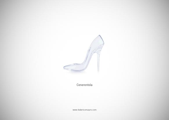 Famous Shoes - Cinderella (Cenerentola)