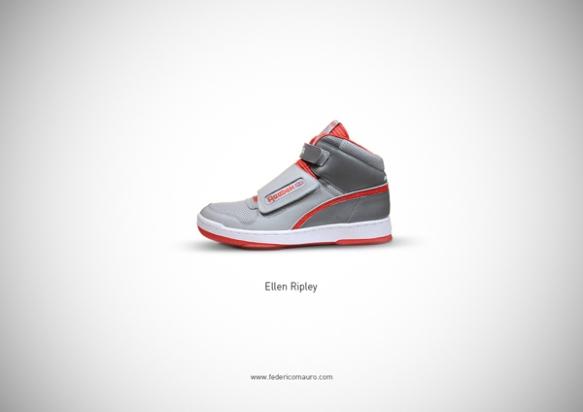 Famous Shoes - Ellen Ripley (Aliens - Aliens Scontro Finale)