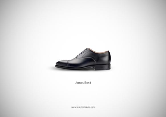 Famous Shoes - James Bond (007)