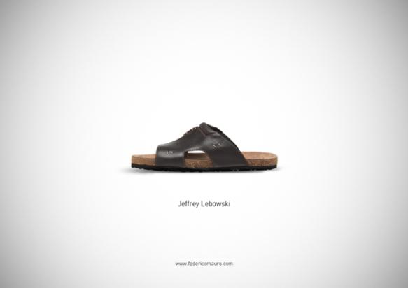 Famous Shoes - Jeffrey Lebowski (The Big Lebowski - Il Grande Lebowski)
