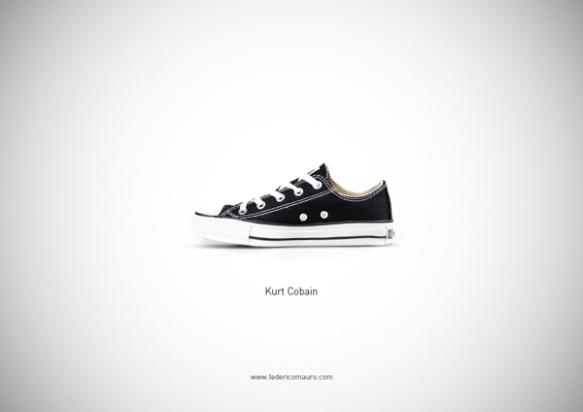 Famous Shoes - Kurt Cobain
