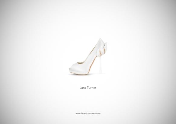 Famous Shoes - Lana Turner