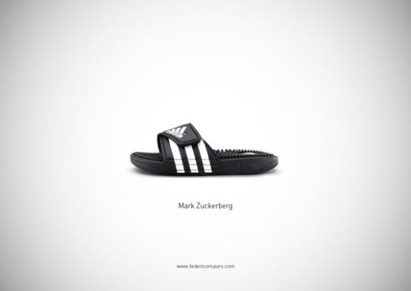 Famous Shoes - Mark Zuckerberg (Facebbok)