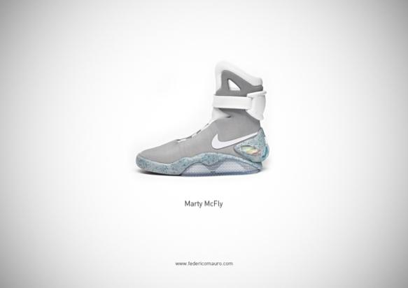 Famous Shoes - Marty McFly (Back to the Future II - Ritorno al Futuro II)