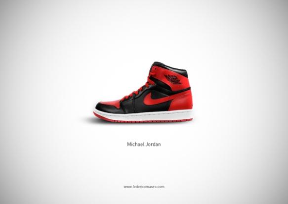 Famous Shoes - Michael Jordan