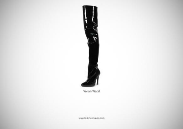 Famous Shoes - Vivian Ward (Pretty Woman)