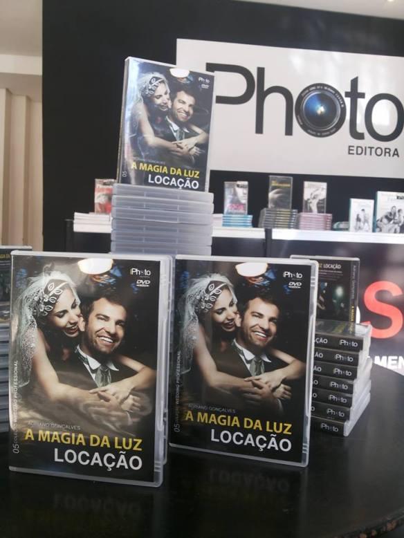 iPhoto Editora faz o lançamento exclusivo do DVD A Magia da Luz Locação do fotógrado Adriano Gonçalves no PhotoShow 2013