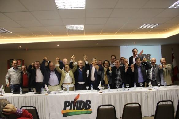 PMDB catarinense tem nova executiva
