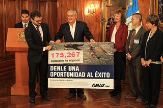 Presidente da Guatemala Pérez Molina diz SIM pelo fim da fracassada guerra às drogas