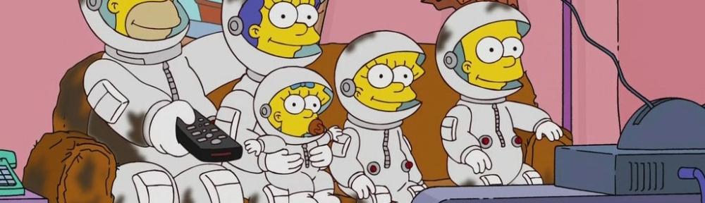 Os Simpsons astronautas
