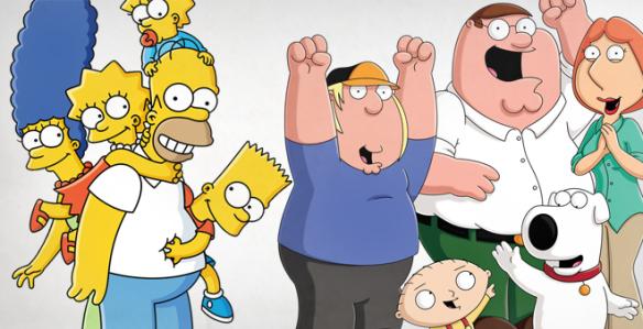Simpsons e Family Guy
