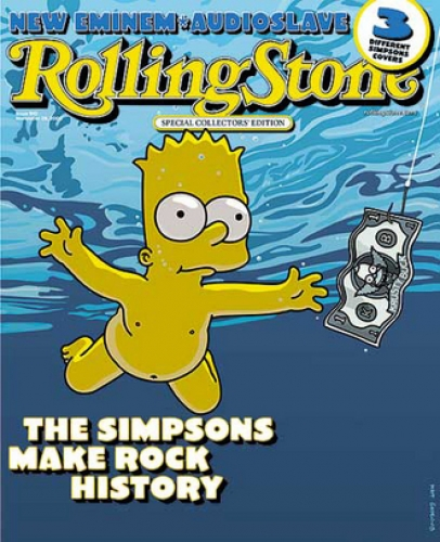 The Simpsons - Revista Rolling Stone