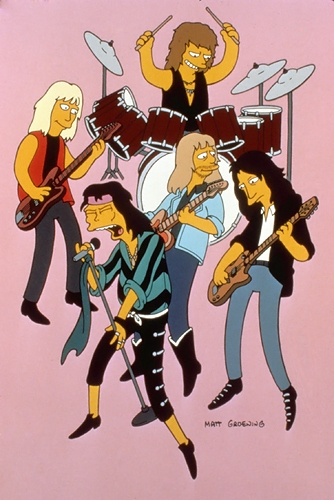 The Simpsons - Aerosmith