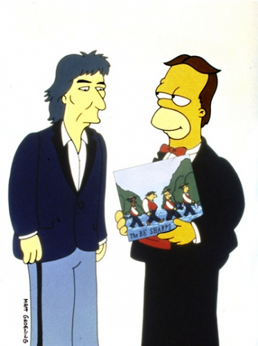 The Simpsons - George Harrison