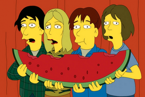The Simpsons - Sonic Youth