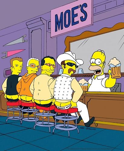 The Simpsons - U2