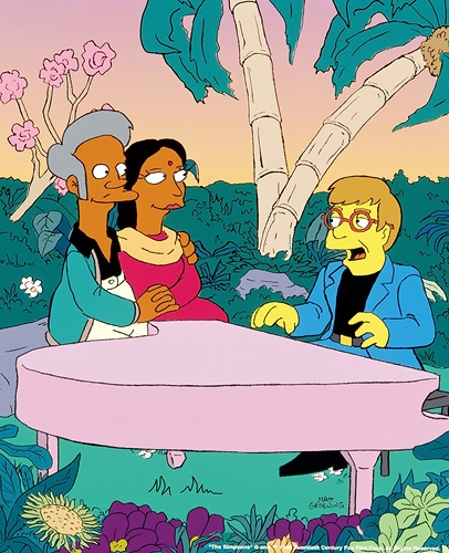 The Simpsons - Elton John