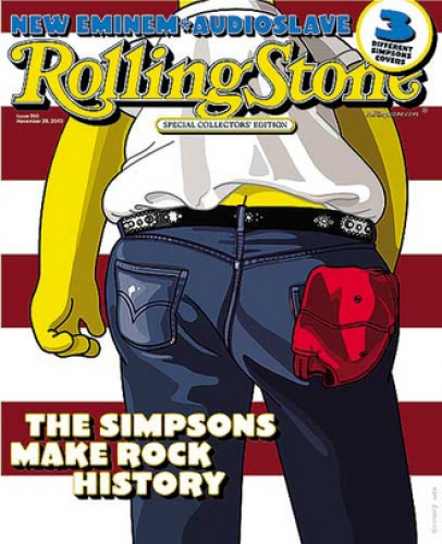 The Simpsons - Rolling Stone